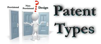 Types of patent filing